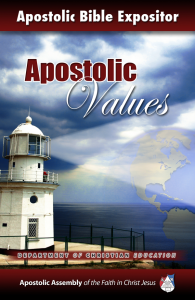 Expositor-Apostolic-Values