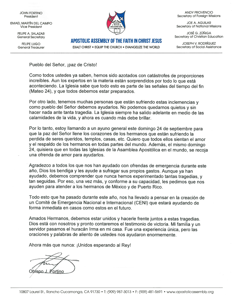9 21 17 presidential letter spanish apostolic assembly of the 9 21 17 presidential letter spanish spiritdancerdesigns Gallery
